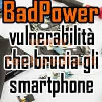 Bad Power Brucia Smartphone Logo
