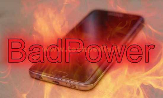 Bad Power Brucia Smartphone