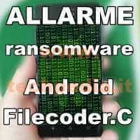 Ransomware Filecoderc Android Logo