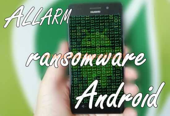 Ransomware Filecoderc Android