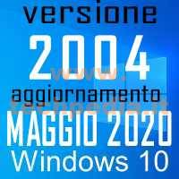 Windows10 2004 Build 19.041 207 20h1 Logo