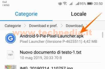 Android Pie Launcher 007