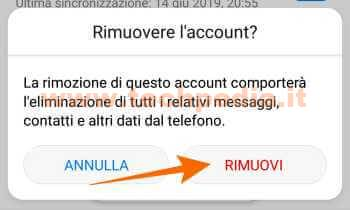 Disconnettere Account Google Android 016