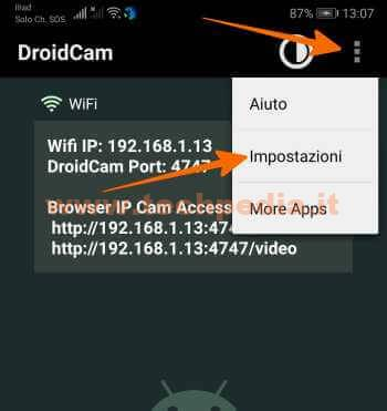 Droidcam Trasforma Smartphone Android In Webcam 079