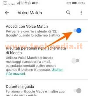 Google Assistant Registrazioni 043