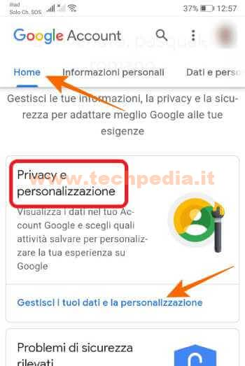 Google Assistant Registrazioni 072