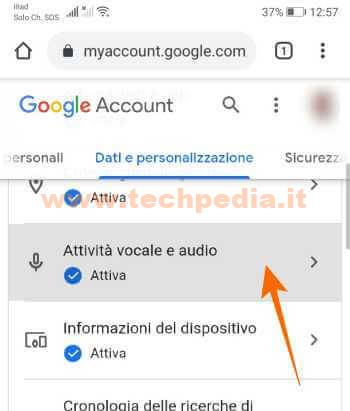 Google Assistant Registrazioni 075