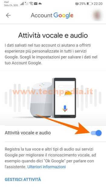 Google Assistant Registrazioni 078