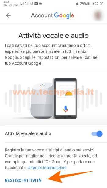 Google Assistant Registrazioni 084