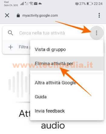 Google Assistant Registrazioni 096