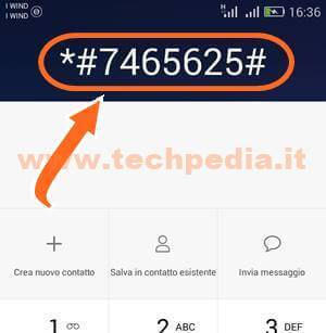 Inserire Imei Smartphone Android 007