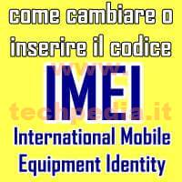 Inserire Imei Smartphone Android LOGO