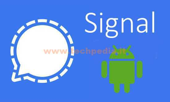 Installare Signal Android