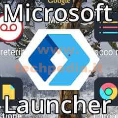 Microsoft Launcher Android Logo