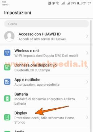 Proteggere Occhi Luce Blu Android 010