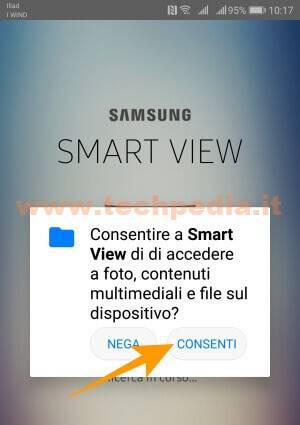 Smartview Collegare Smartphone Tv Samsung 013