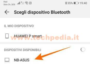 Trasferire Foto Huawei Computer Bluetooth 025