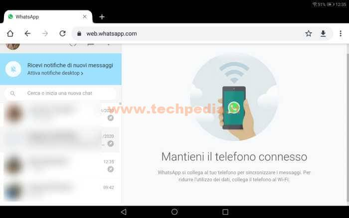 Whatsapp Tablet Android 025