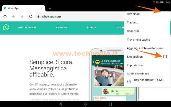 Whatsapp Tablet Android 034
