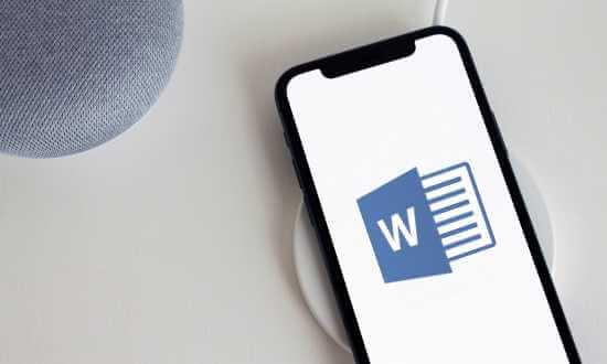 Word Mobile Smartphone Android