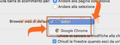 Impostare Browser Macos 010