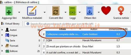 Calibre Per Gestire Ebook 076