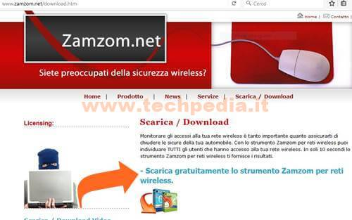 ZAMZOM WIRELESS NETWORK TOOL ITALIANO SCARICA
