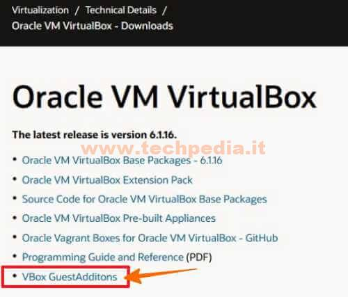 Guest Addition Virtual Box Oracle 018