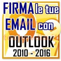 Outlook Firma Automatica Email LOGO