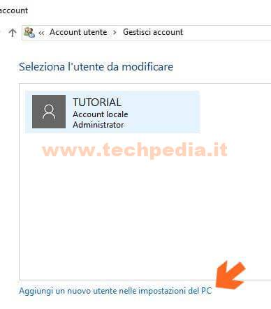 Creare Account Windows 10 013