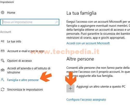 Creare Account Windows 10 016