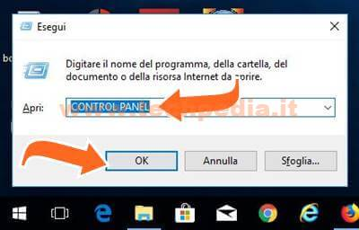 Aprire Pannello Di Controllo Windows 10 016