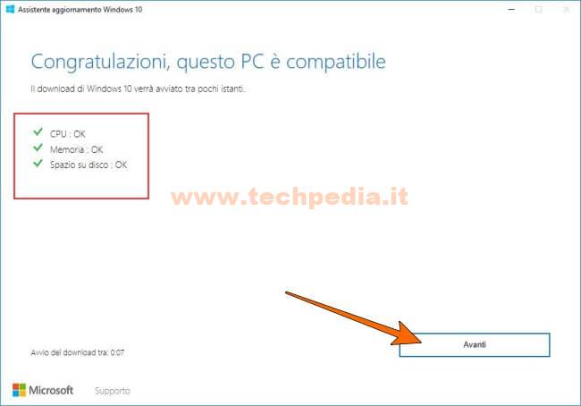 Assistente Aggiornamento Windows 10 028