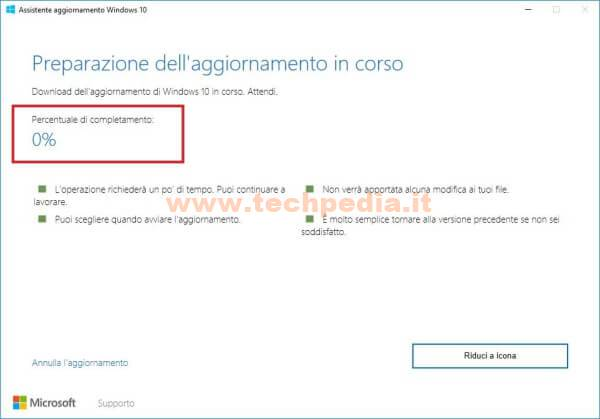 Assistente Aggiornamento Windows 10 031
