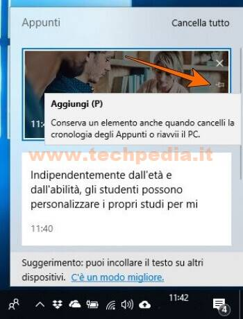 Cronologia Appunti Windows 10 025