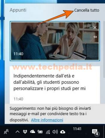 Cronologia Appunti Windows 10 028