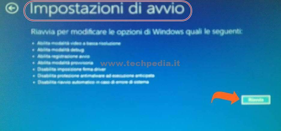 Disabilitare Firma Driver Windows 10 022