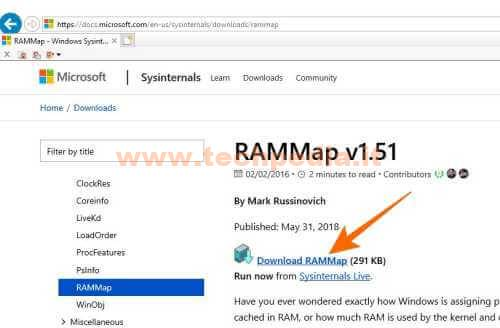 Liberare Ram Windows 10 Con Rammap 013