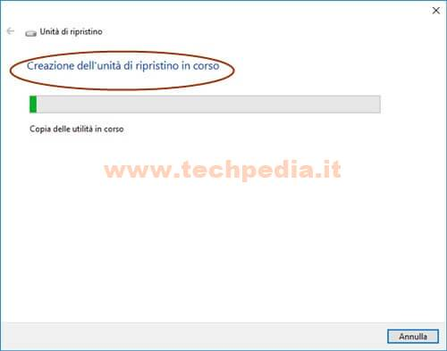 Creare Unita Rirpistino Windows 10 016