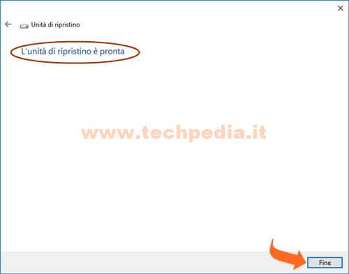 Creare Unita Rirpistino Windows 10 019