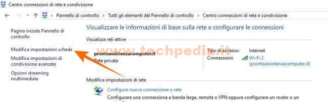 Cambiare Dns Computer Windows 010B