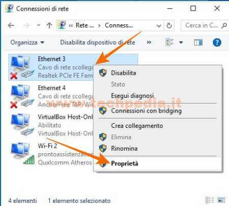 Cambiare Dns Computer Windows 031