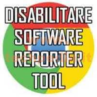 Disabilitare Software Reporter Tool Google Logo