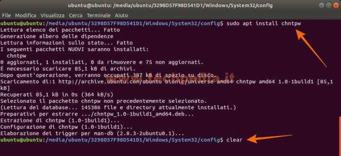 Resettare Password Dimenticata Windows10 043