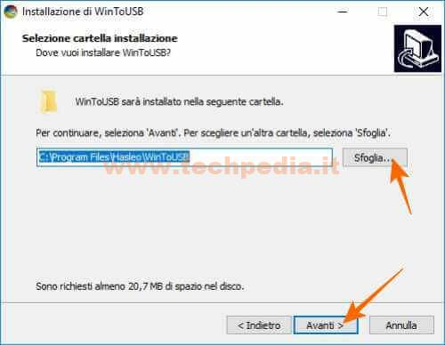 Clonare Installare Windows Su Pendrive Disco Usb Wintousb 028