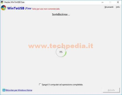 Clonare Installare Windows Su Pendrive Disco Usb Wintousb 073