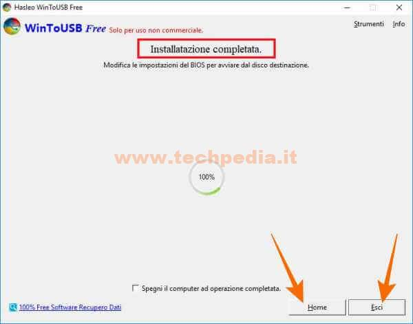 Clonare Installare Windows Su Pendrive Disco Usb Wintousb 079