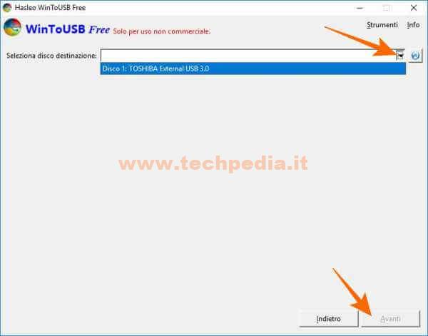 Clonare Installare Windows Su Pendrive Disco Usb Wintousb 085