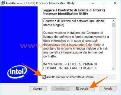 Conoscere Cpu Intel Con Processor Identification Utility 028