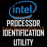 Conoscere Cpu Intel Con Processor Identification Utility LOGO